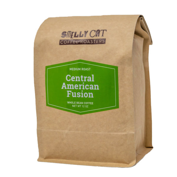 12 ounce bag of Central American Fusion (CAF) coffee beans