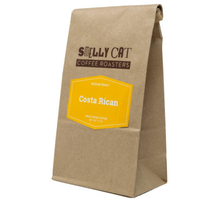 12 ounce bag of costa rican coffee beans